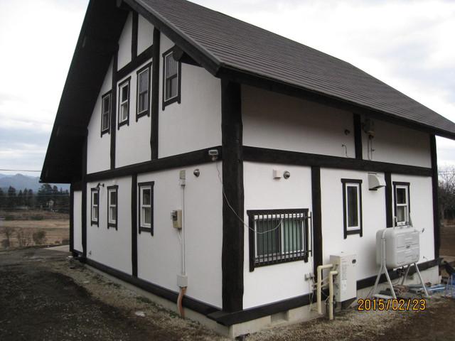 北杜市K様邸外部塗装工事完成