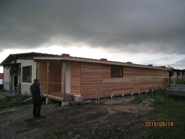 長野県NY大外トイレ改修工事