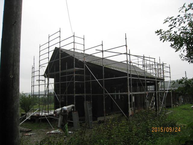 北杜市YT様邸屋根葺替え工事