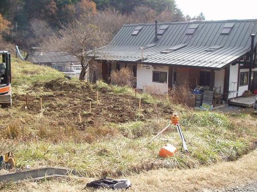 2012/11/30 五風十雨農場小屋増築工事