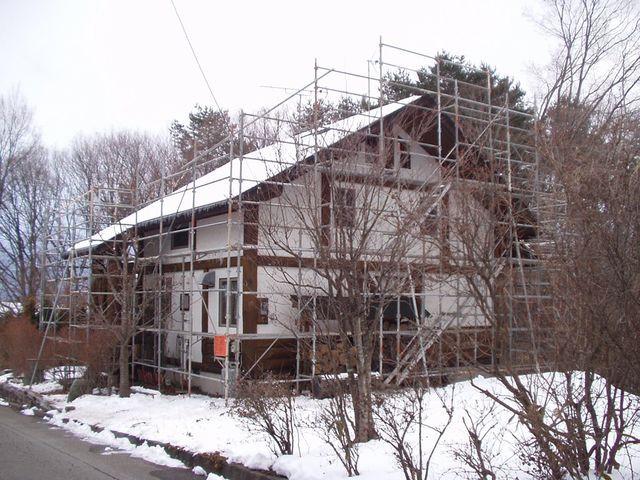 2012/01/25 北杜市F様邸屋根葺替え工事