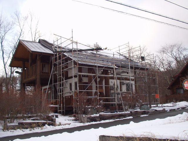 2012/01/27 北杜市F様邸屋根葺替え工事