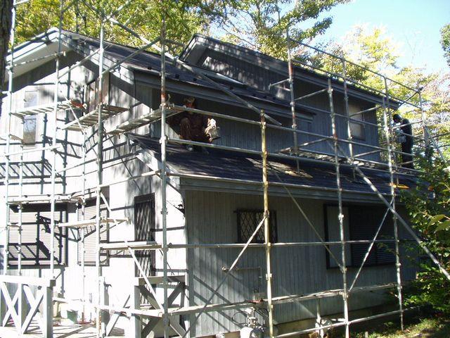 2012/10/26 北杜市HK様邸外壁塗装工事