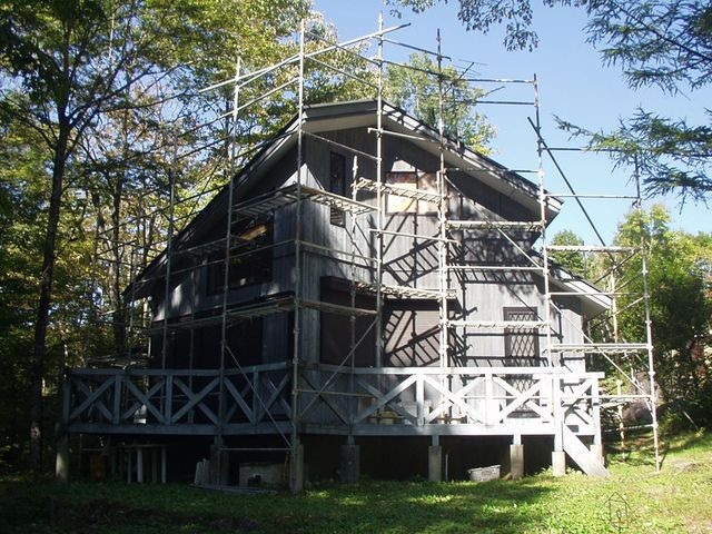 2012/10/24 北杜市HK様邸外部塗装工事