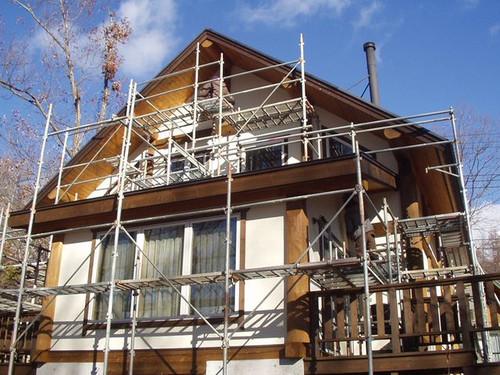 2012/12/03 北杜市MH様邸塗装工事