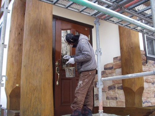 2012/12/12  北杜市MH様邸外部塗装工事