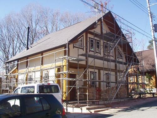 2012/11/27 北杜市MH様邸外部塗装工事