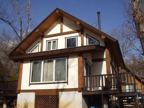 2012/12/19 北杜市MH様邸外部塗装工事完了