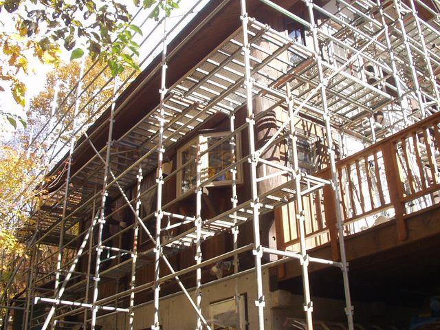 2012/11/13 北杜市TI様邸外部塗装工事
