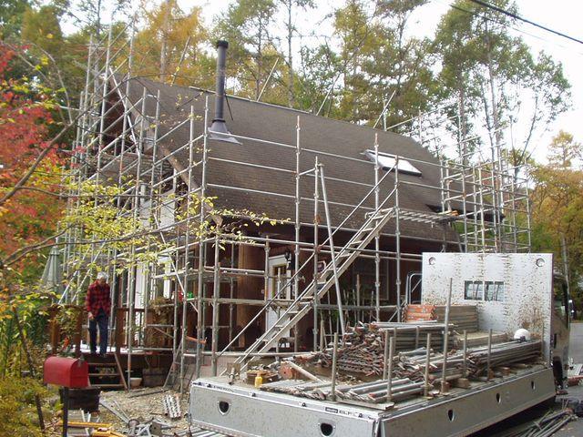 2012/11/05 北杜市TI様邸外部塗装工事