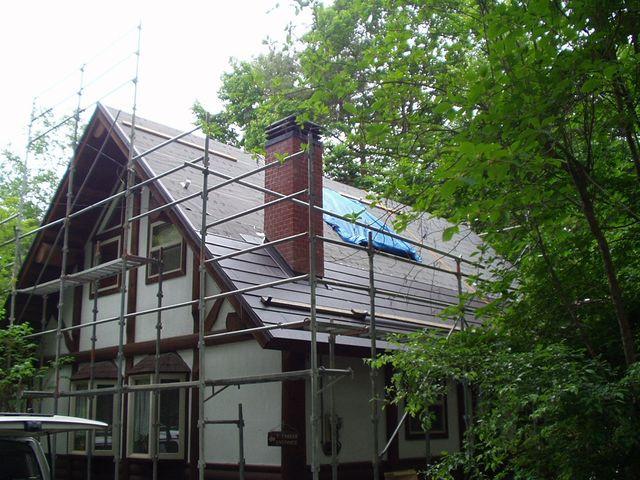 2012/06/06 北杜市TN様邸屋根改修工事
