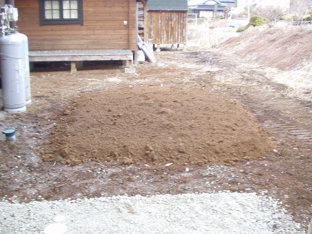 2012/03/29 北杜市Y様邸下水道繋ぎ込み工事