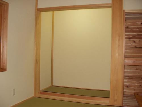 1階和室床の間